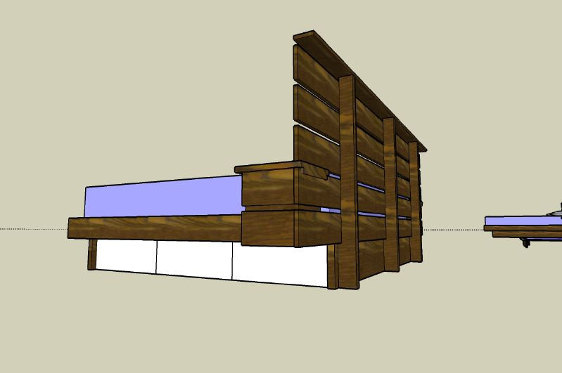 How To Build A Platform Bed With Drawers Underneath | Unique ...
