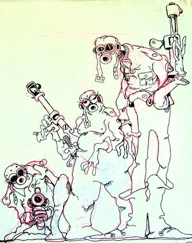 Wizards - Original Production Drawing #8