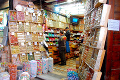 Sweet Shop in Old City - Damascus (friend_faraway *) Tags: men shopping sweet chocolate middleeast syria bazaar damascus souq bazar oldcity 5photosaday mywinners fotogezgin