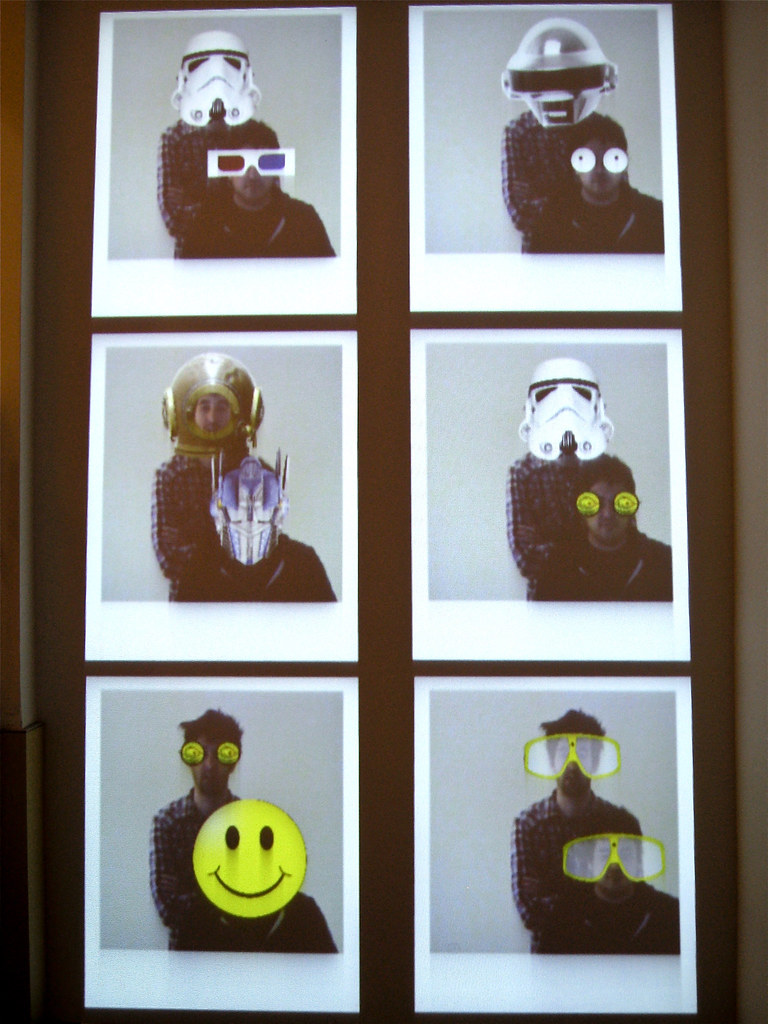 Face Tracking Installation