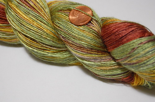 """Sunflowers"" laceweight bamboo singles"