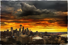 Then there was rain! (mcazadi) Tags: seattle park sunset colors rain cloudy kerry supershot impressedbeauty infinestyle overtheexcellence thegreatshooter overtheshot