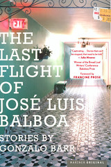 Gonzalo Barr, The last flight of José Luis Balboa