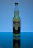 Blue Corona (Luc Deveault) Tags: blue light test canada reflection yellow backlight jaune mexico fun bottle quebec bleu corona québec mexique luc product biere bouteille produit alchool underlight strobist deveault extrabeer lucdeveault