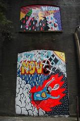 El Tono volador(Wooow)/NOV9(Platano), by 3TTMAN (neloboix) Tags: uk streetart london graffiti platano urbanart londres nov9 wooow beargardens 3ttman
