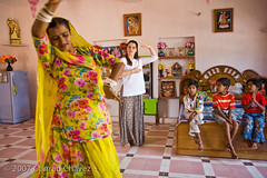 Dancing at home (conradchavez.com) Tags: india dance jaipur rajasthan