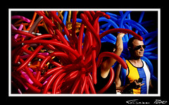 Balloon Animals (cPutter) Tags: red animals catchycolors switzerland balloon zrich theperfectphotographer cputter