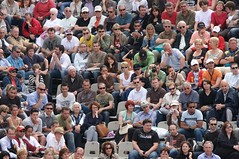 Crowd at the French Open