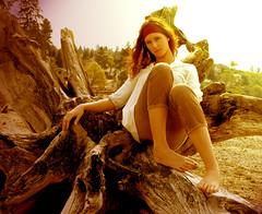 (mckenziegoff) Tags: portrait beach stump redondo heeey kesi