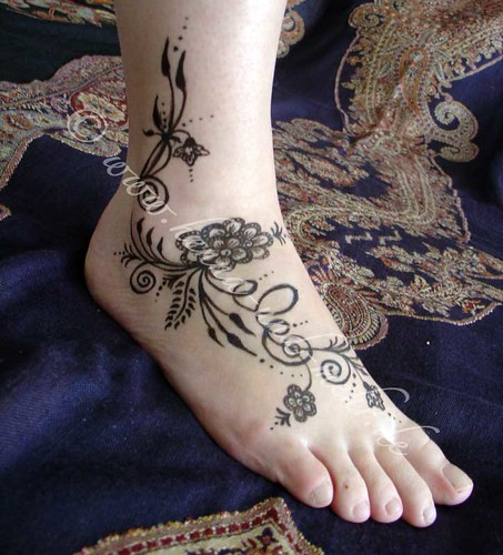 Batik Boutique Tribbal Flower Tattoo Unique Cute