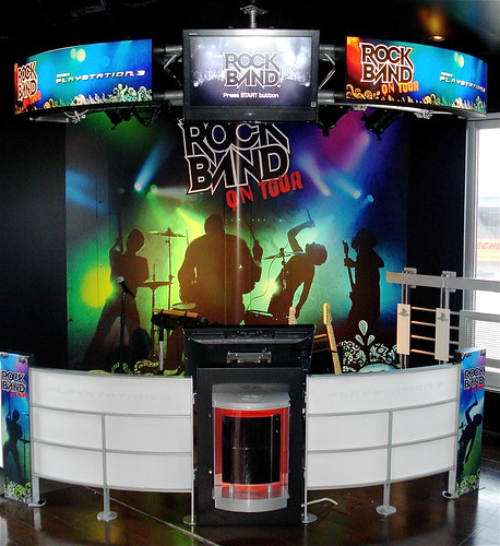 Rock Band on board