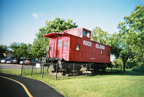 The Rock Island lives! Tinley Park Illinois. June 2008. by Eddie from Chicago