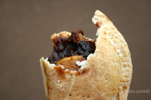 Indian Prune & Apple Turnover at Taos Pueblo