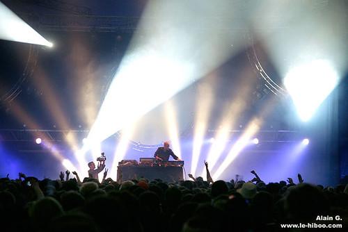 Photos live : DJ Set Agoria @ Solidays 2008, Longchamps | 04.07.2008