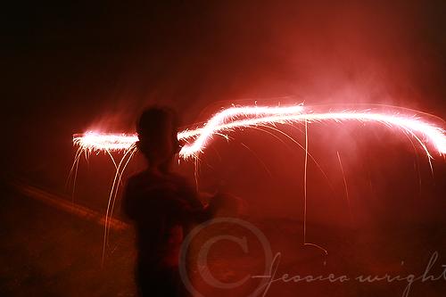 Nevins first sparkler