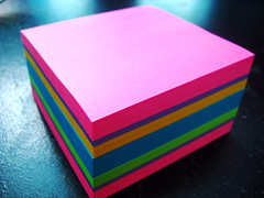 Post-Its by angelamaphone, on Flickr