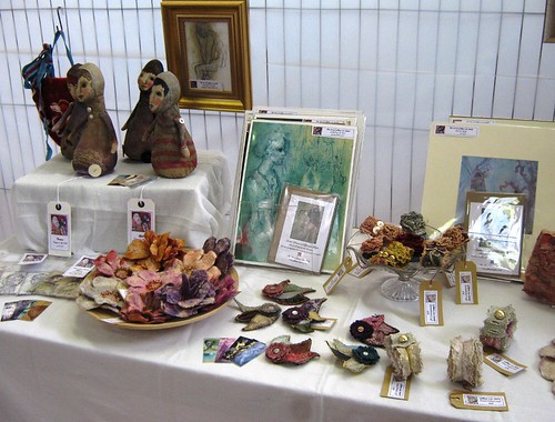 Ladybay Arts Event table