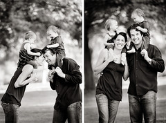 family fun (mosippy) Tags: family blackandwhite chicken twins 5d familyportrait 580ex canonef70200mmf28lis dembflipit