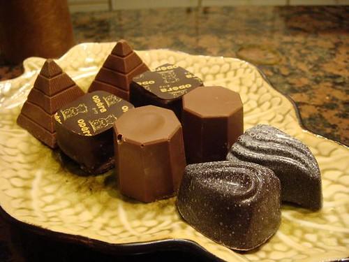 橫照所有巧克力