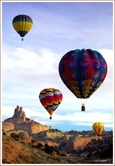Red Rock Balloon Rally (Marlong) Tags: hot