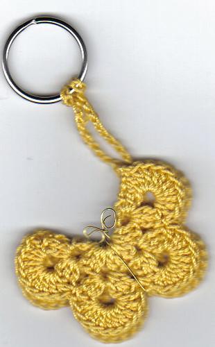 Crochet Zipper Pull