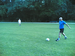 Warming up: Ruud (stadionnieuws) Tags: bos amsterdamse trainen 200809