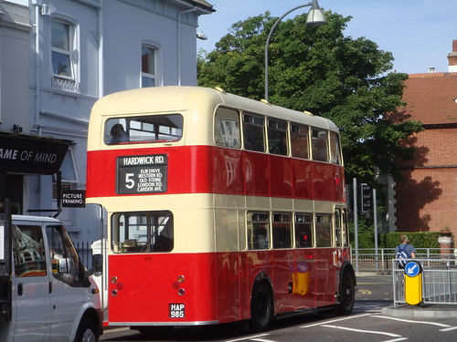 Old Brighton No. 5 Bus