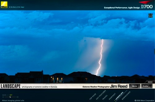 Extreme Weather in Kansas -- Photography by Jim Reed with the Nikon D700