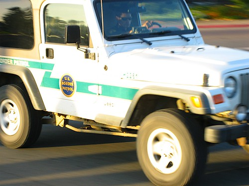 US Border Patrol (USBP/CBP) Jeep by USBP_Guy.