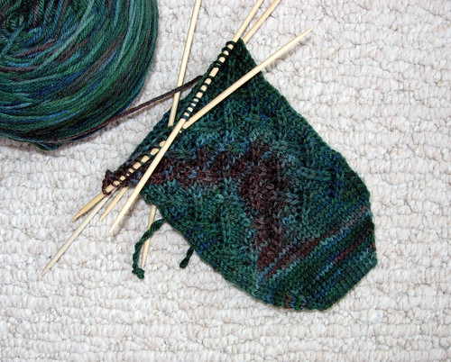 Lattice Lace Socks