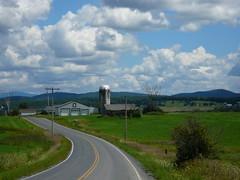 Argyle (egreene7) Tags: road mountain nature clouds barn landscape farm country silo supershot pfo interphoto photofaceoffwinner pfogold yourock1stplace