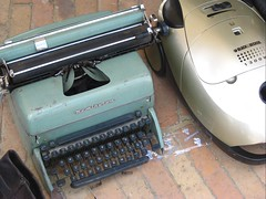They even sell typewriters.