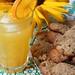 Limonade met koekjes