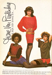 1982 Diane Von Furstenberg Liquid Assets Knits (MsBlueSky) Tags: pose 1982 model supermodel ad advertisement 80s advert 1980s iman highfashion dianevonfurstenberg vintageadvertisement giacarangi