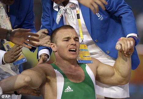 Hand Broken Olympic