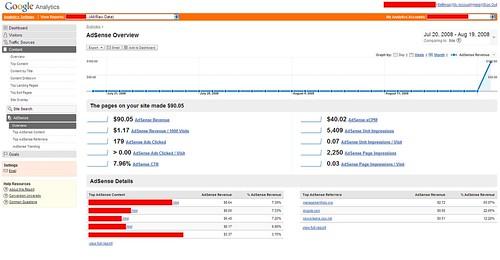 Google Analytics & AdSense