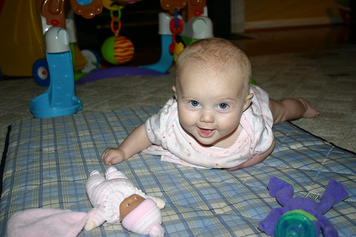 Madelyn Tummy Time