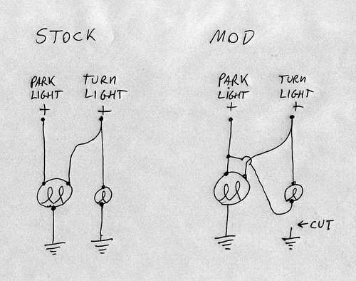 Side Marker/Turn Signal Mod
