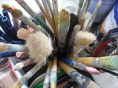 An artist's tools