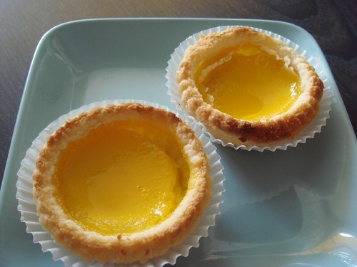 Egg tart @Trader's Inn Cafe