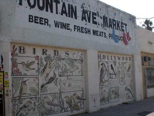 Beer, wine, fresh meats, produce