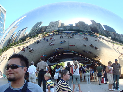 Rich and the Cloud Gate