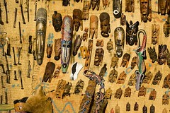 Masks (Paint.It.Black) Tags: 2008 egypte nubian