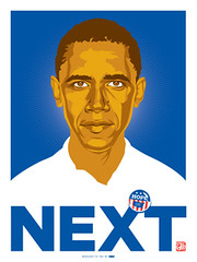 Obama Screenprinted poster