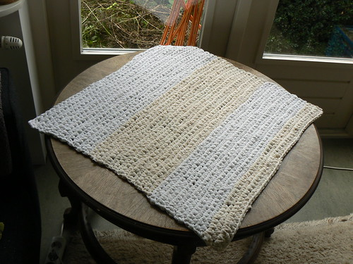 Voddenkleedje / Rag rug / Rag carpet by evstra