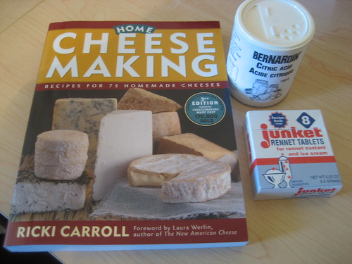 Getting started with cheesemaking