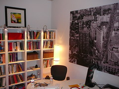 books behind me, ikea wall hanging and lighting (alist) Tags: english ikea design office asu decorate alicerobison susanellsworth