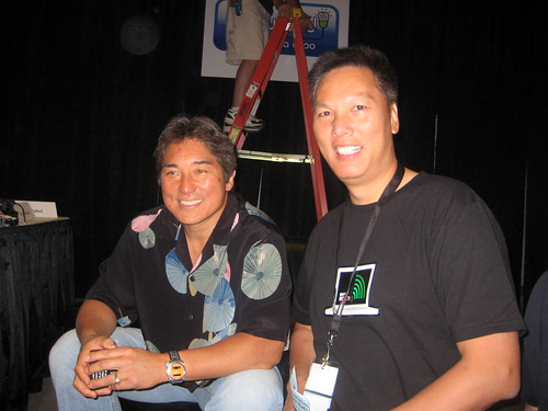 Guy Kawasaki and John Chow by marketleverage.