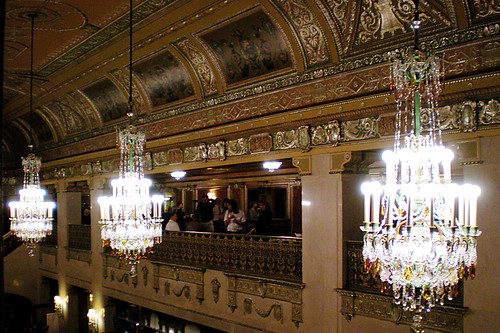 View of the Benedum lobby.