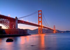 Golden Gate Bridge (whc7294) Tags: sf sanfrancisco california bridge sunset usa night goldengatebridge fortpoint hdr sigma185028 photomatix 10faves superhearts lunarvillage theunforgettablepictures theunforgettablepicture thefinalcrown artistsoftheyear colourartaward platinumheartaward nikond300 piatiumheartawardhalloffame